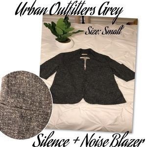 Urban Outfitters Grey Small Blazer